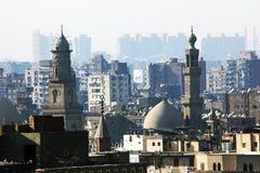 埃及开罗的看法 免版税库存照片