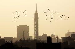 埃及开罗的看法 图库摄影