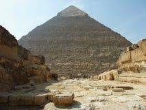 埃及开罗的金字塔 免版税库存图片