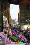 埃及开罗街道视图在非洲 免版税库存照片