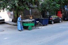 埃及开罗街道视图 图库摄影