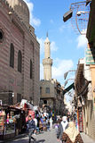 埃及开罗街道视图 库存图片