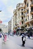 埃及开罗街道视图 免版税图库摄影