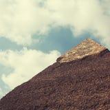 埃及开罗-吉萨棉 免版税库存照片