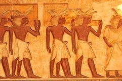 埃及搬运程序 免版税库存照片