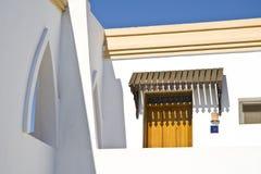 埃及旅馆视窗 图库摄影