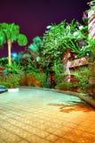 埃及晚上手段视图 库存照片