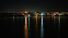 埃及晚上 免版税库存照片