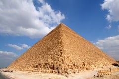 埃及极大的金字塔 库存照片