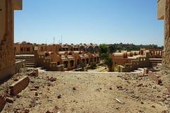 埃及构筑 库存图片
