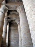 埃及柱子 免版税图库摄影