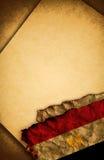 埃及标志老纸张 免版税库存图片