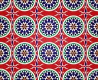 埃及模式ramadan无缝 免版税库存图片