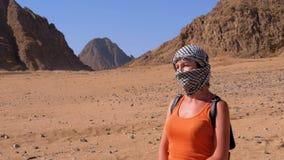 埃及沙漠克菲耶女孩 股票录像