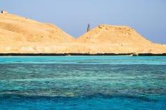 埃及沙漠 免版税库存照片