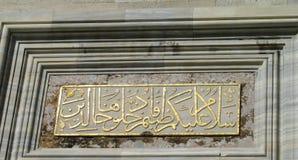 埃及清真寺 库存图片