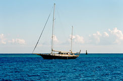 埃及游艇 库存图片