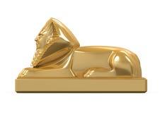 埃及狮身人面象雕象 库存图片