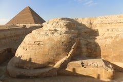 埃及狮身人面象 免版税库存图片