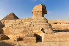 埃及狮身人面象 图库摄影