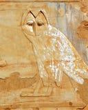 埃及猫头鹰 免版税库存图片