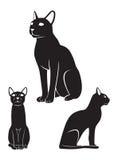 埃及猫 免版税库存照片