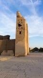 埃及的一个古庙的废墟 库存图片
