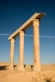 埃及的古老废墟 免版税库存图片