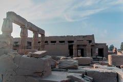 埃及的图片的著名纪念碑和地方系列  库存照片