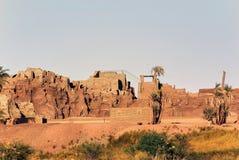 埃及的图片的著名纪念碑和地方系列  图库摄影