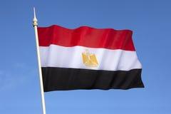 埃及的旗子-埃及旗子 库存照片