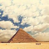 埃及的极大的金字塔 免版税库存图片