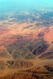 埃及的沙漠 库存图片
