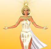埃及的白光 免版税库存照片