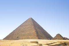 埃及的金字塔 吉萨棉金字塔的看法 埃及 开罗 免版税图库摄影