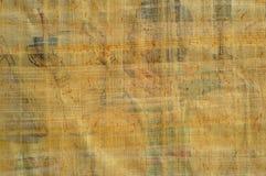 埃及纸莎草纹理 免版税库存图片