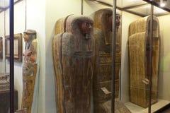 埃及艺术在状态偏僻寺院。 圣彼德堡 免版税库存照片