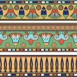 埃及装饰品 Ð ¡ ollection 免版税库存照片
