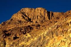 埃及西奈山 免版税图库摄影