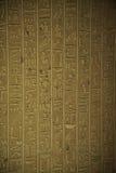 埃及象形文字 图库摄影