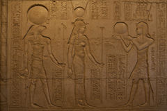 埃及雕刻 免版税库存图片