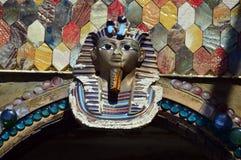 埃及面具装饰 免版税库存照片