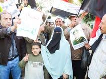 埃及革命6月30日 免版税库存图片
