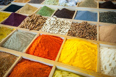 埃及香料市场 库存图片