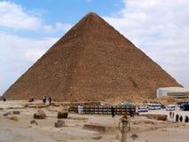 埃及,吉萨棉高原,伟大的金字塔 库存图片