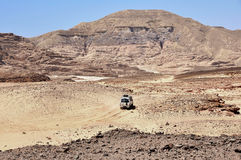 埃及,西奈的山离开 库存图片