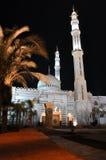 埃及el清真寺晚上sharm回教族长 图库摄影