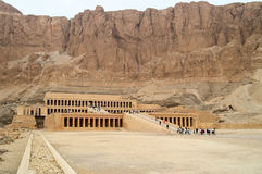 埃及hatshepsut卢克索寺庙 库存照片
