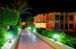 埃及hdr晚上手段 库存图片