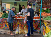 埃及hurghada市场 库存图片